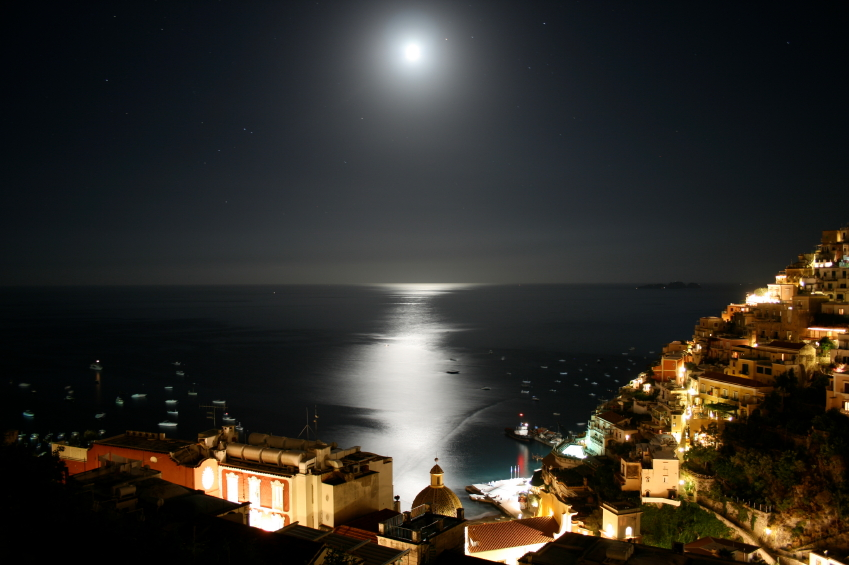 Positano night